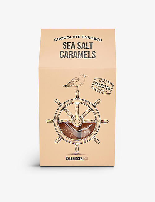 SELFRIDGES SELECTION: Chocolate Enrobed Sea Salt Caramels 150g