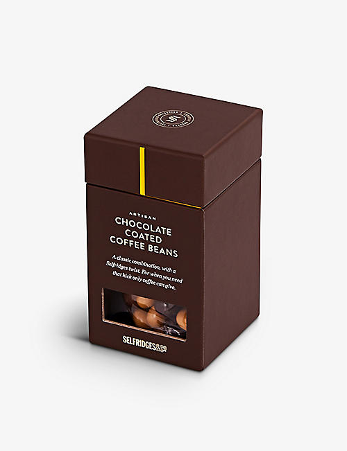 SELFRIDGES SELECTION: Chocolate Coated Coffee Beans 125g