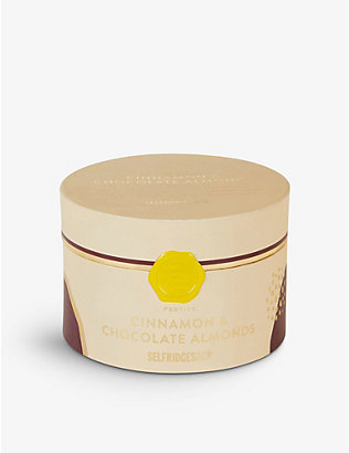 SELFRIDGES SELECTION: Festive Cinnamon and Chocolate Almonds 325g