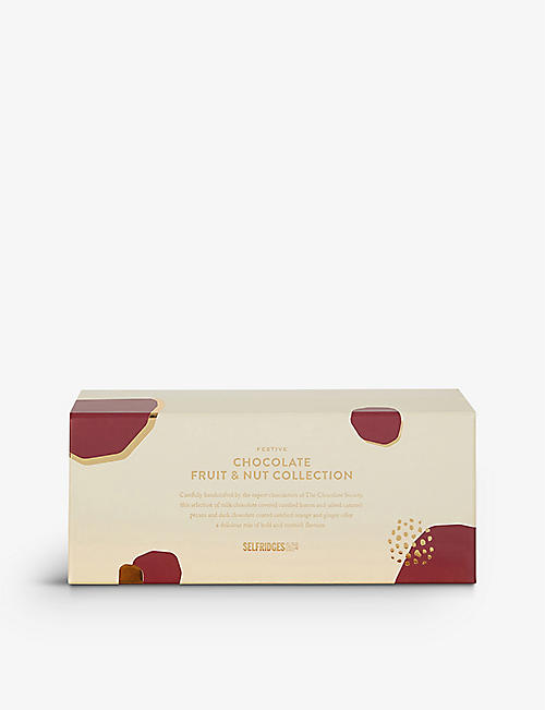 SELFRIDGES SELECTION: Festive Chocolate Fruit and Nut Collection 375g