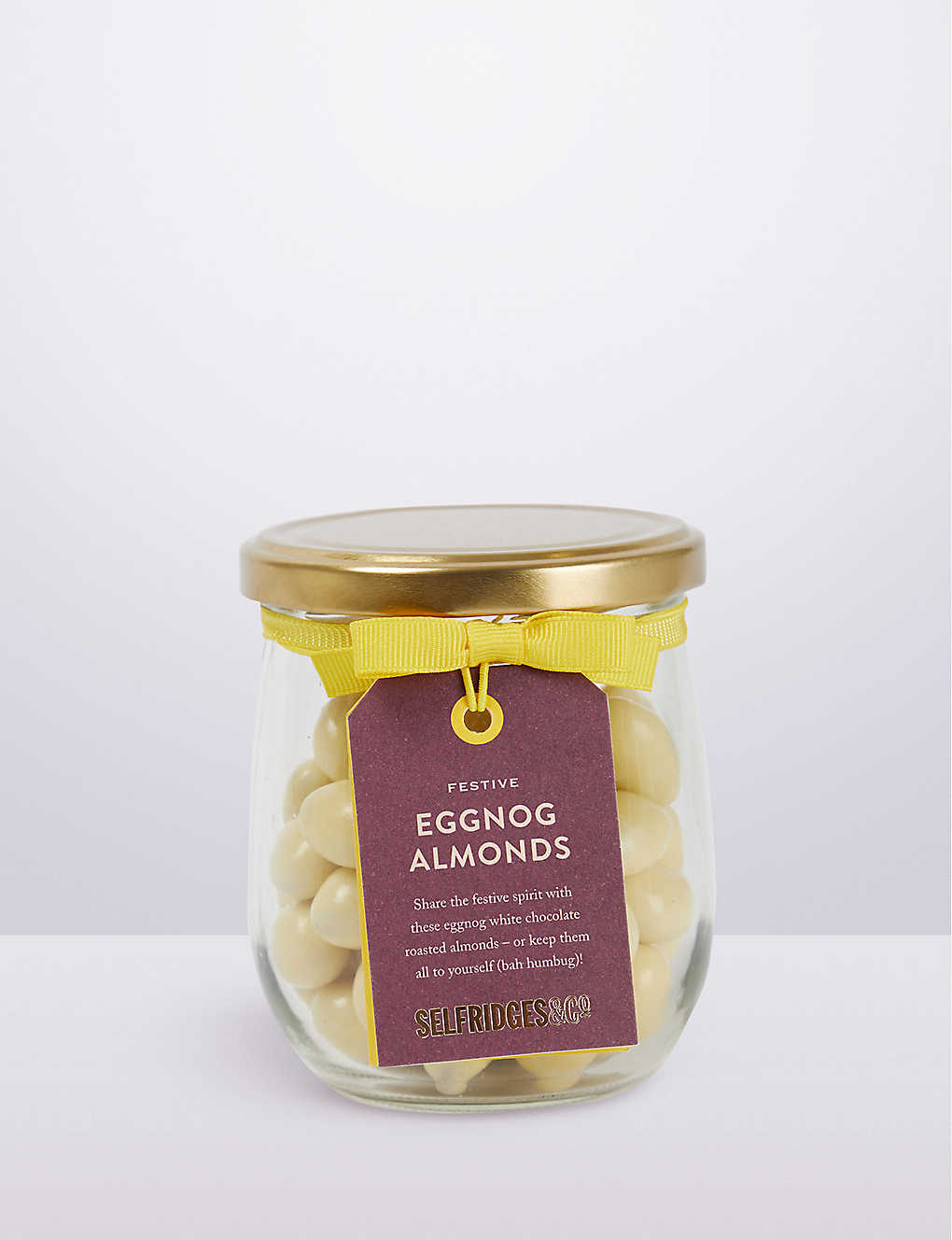SELFRIDGES SELECTION: Festive Eggnog Almonds 200g