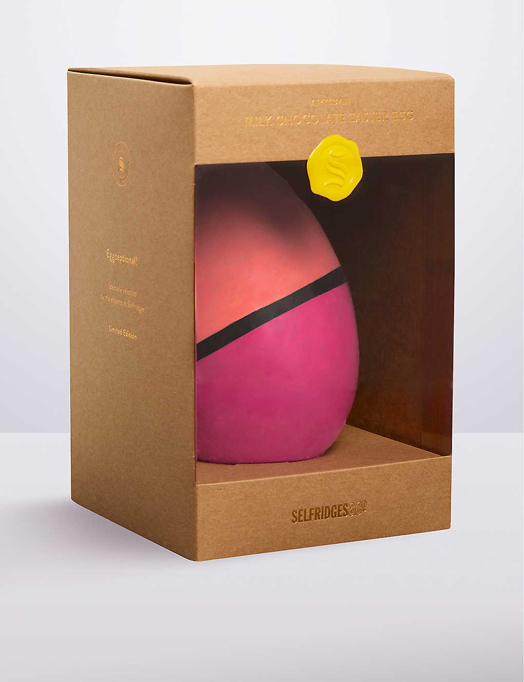 d485721108cb SELFRIDGES SELECTION - Artisan milk chocolate Easter egg 200g ...