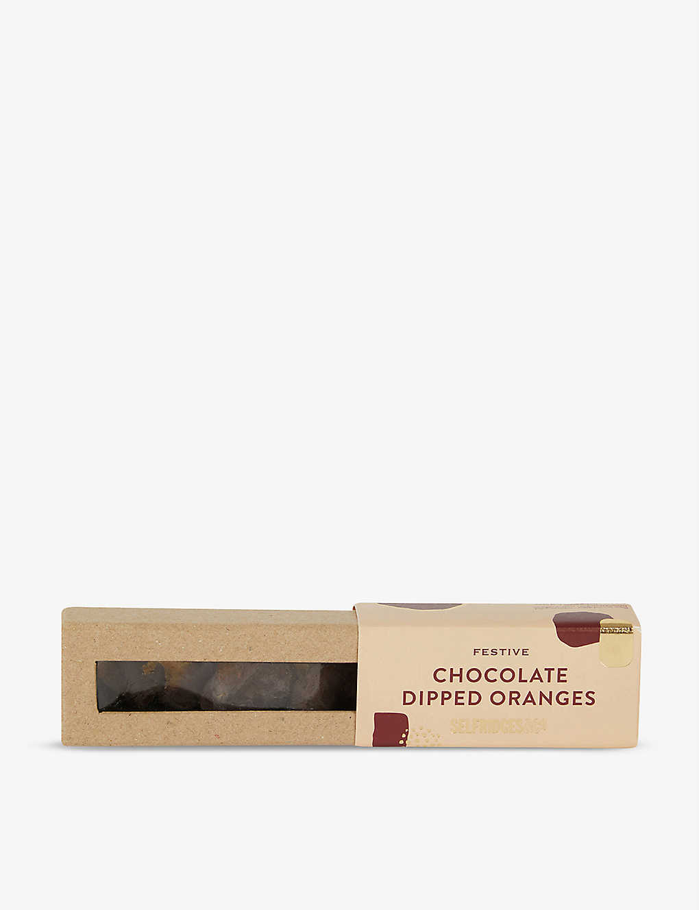 SELFRIDGES SELECTION: Festive Chocolate Dipped Oranges 50g