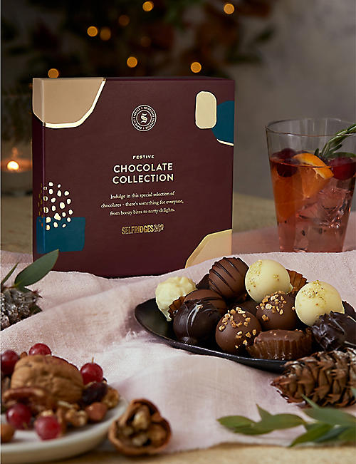 SELFRIDGES SELECTION Festive Chocolate Collection 210g