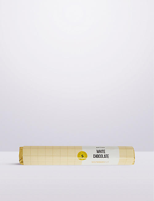 SELFRIDGES SELECTION: British White Chocolate bar 85g