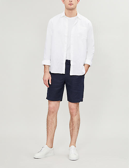 ORLEBAR BROWN Harton linen shorts