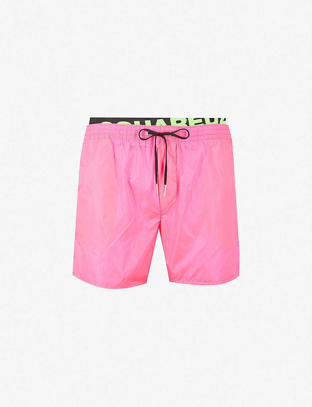 7b669cb7a1 DSQUARED2 - Logo-waistband swim shorts | Selfridges.com