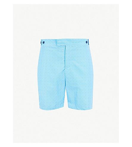 8aef719c4c FRESCOBOL CARIOCA - Angra diamond-print swim shorts | Selfridges.com