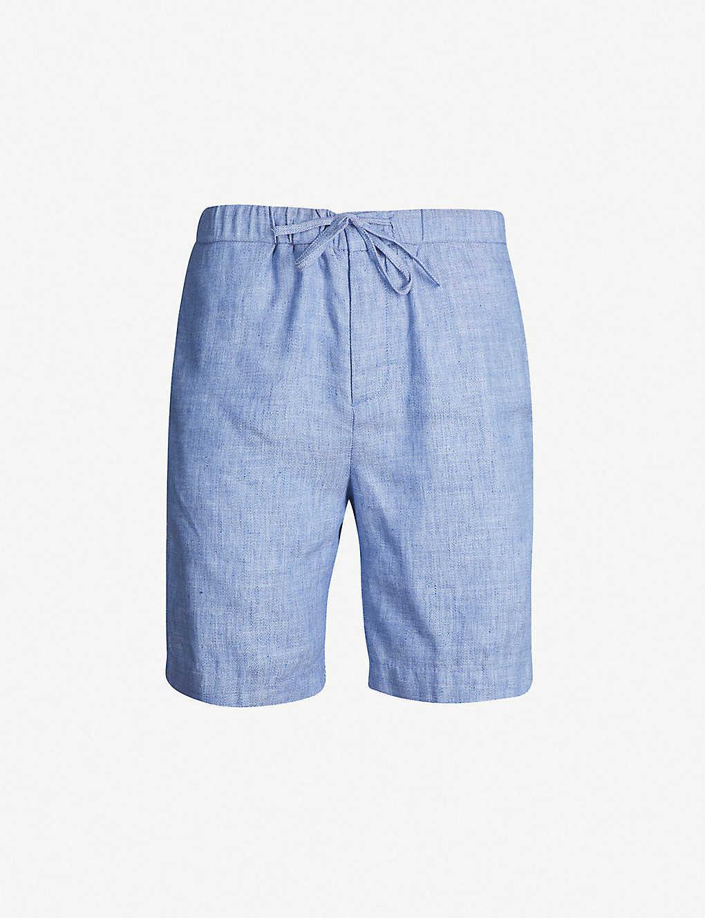 6d6e927d060ed FRESCOBOL CARIOCA - Sport linen-cotton blend shorts | Selfridges.com