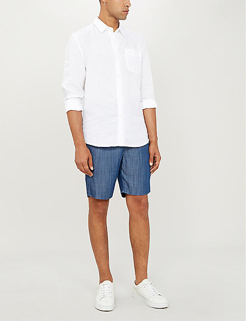 FRESCOBOL CARIOCA Relaxed-fit tencel shorts
