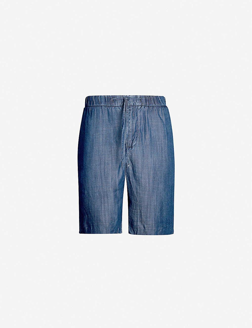 730ea5f8d6 FRESCOBOL CARIOCA - Relaxed-fit tencel shorts | Selfridges.com
