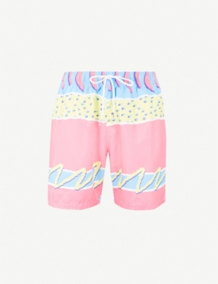 BOARDIES Melon relaxed-fit swim shorts