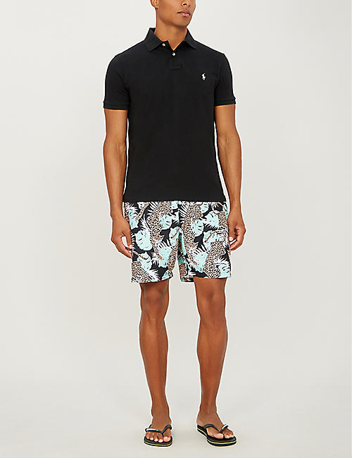 BOARDIES Purfect paradse relaxed-fit swim-shorts