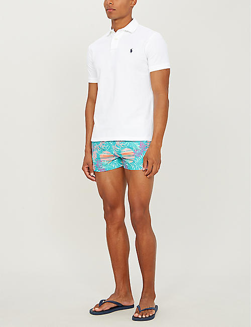 BOARDIES Rising Palm relaxed-fit swim shorts