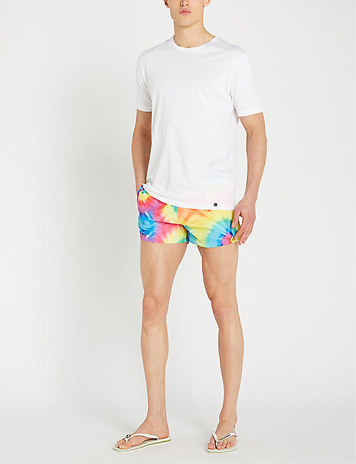 BOARDIES Shortie tie-dye print swim shorts