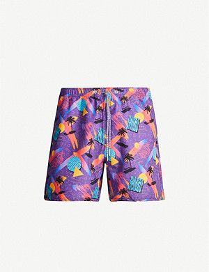 BOARDIES Screech printed swim shorts