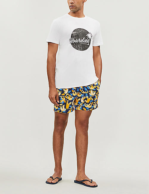 BOARDIES Logo-print cotton-jersey T-shirt