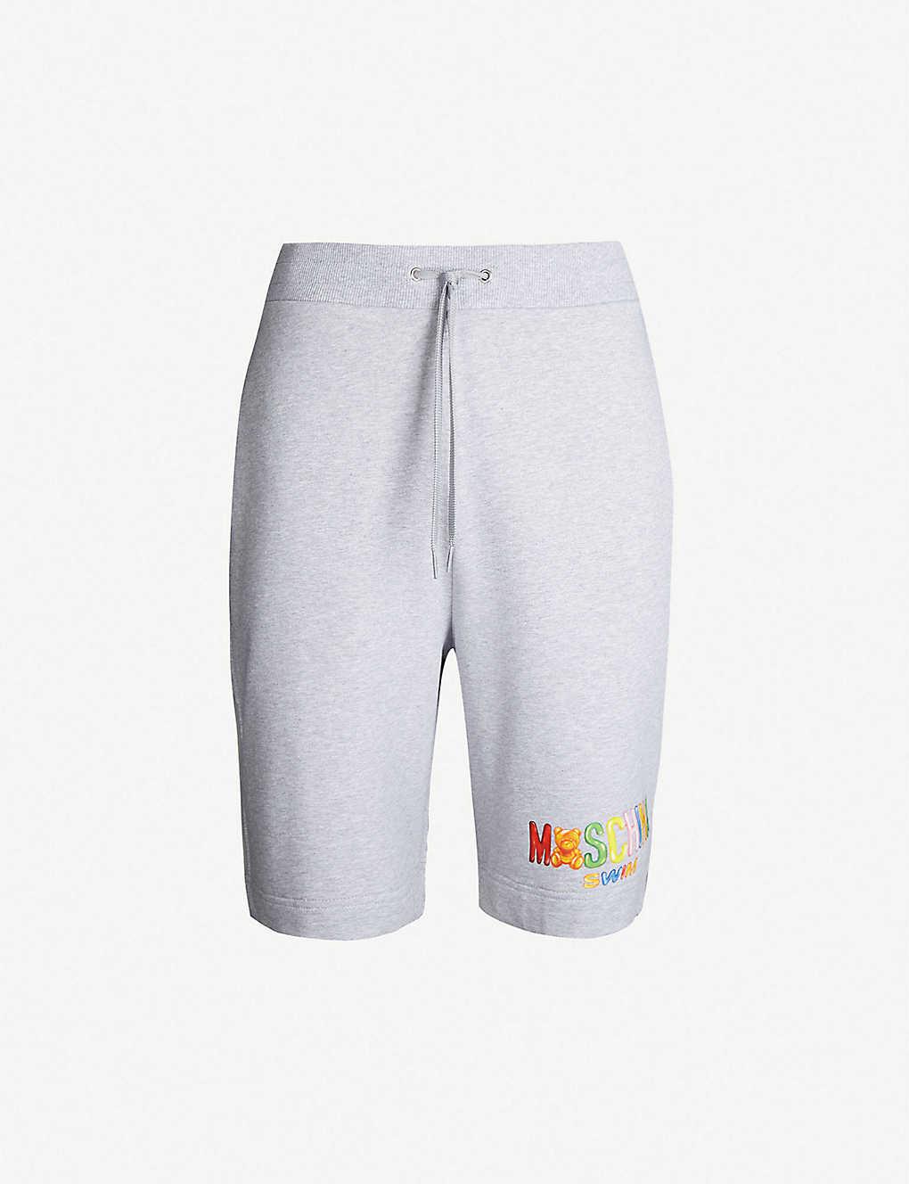 716dd1d273 MOSCHINO - Bear-print cotton-jersey shorts | Selfridges.com