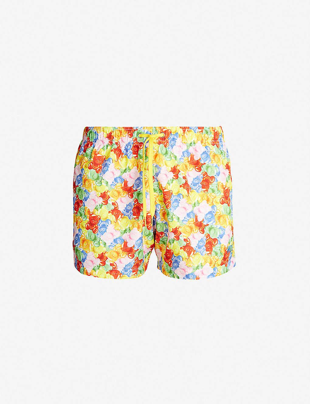 0b091ddfaa MOSCHINO - Bear-print swim shorts | Selfridges.com