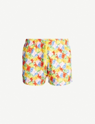 MOSCHINO Bear-print swim shorts