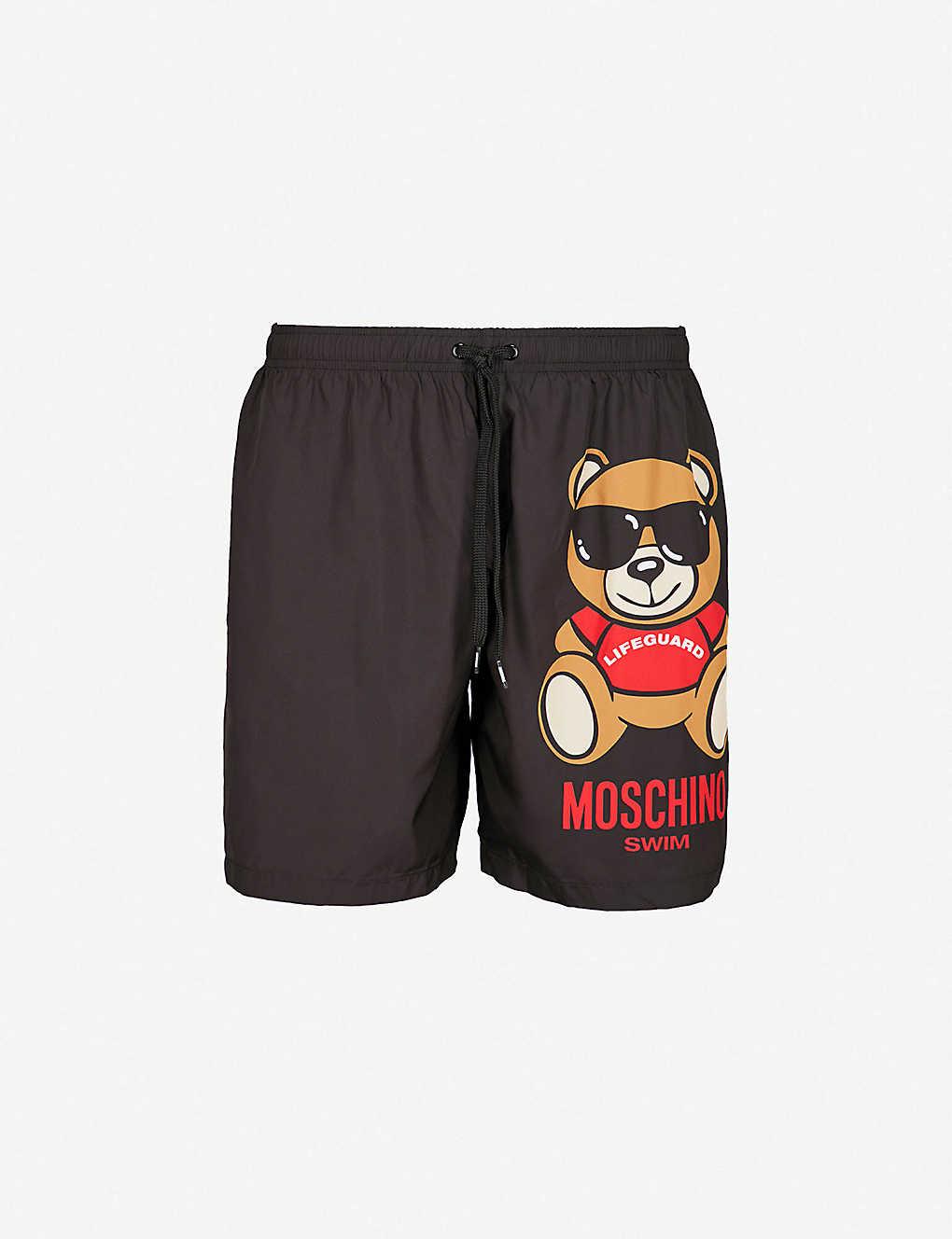d9e60b83a1 MOSCHINO - Lifeguard Bear swim shorts | Selfridges.com
