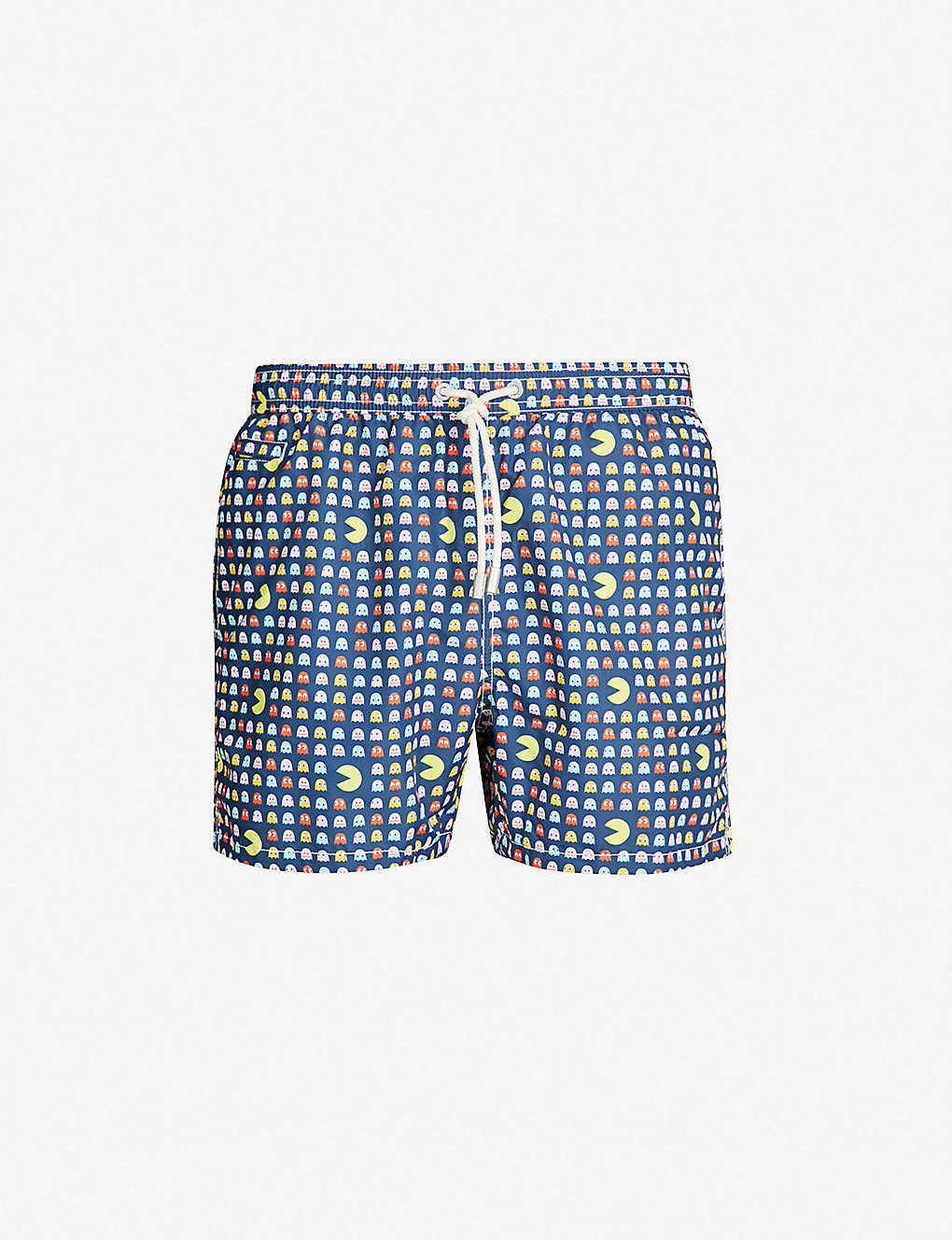 4ae7d06763 MC2 SAINT BARTH - Pacman-print swim shorts | Selfridges.com