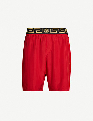 VERSACE Iconic branded swim shorts