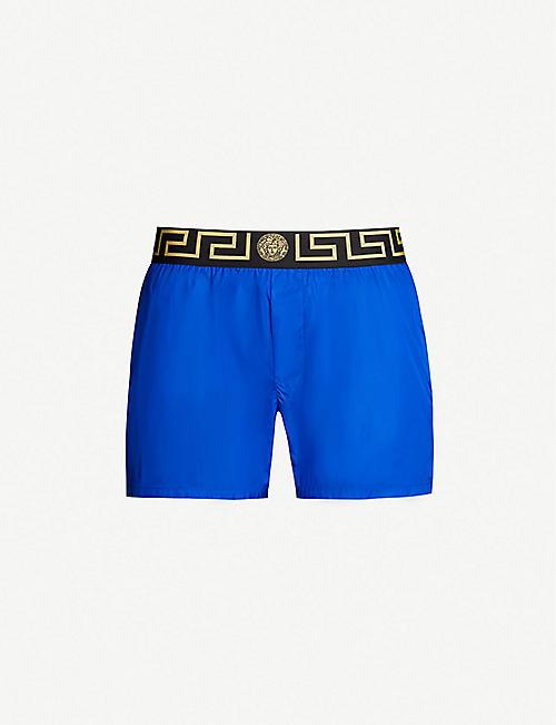 88d5b05ff474 VERSACE Iconic shell swim shorts