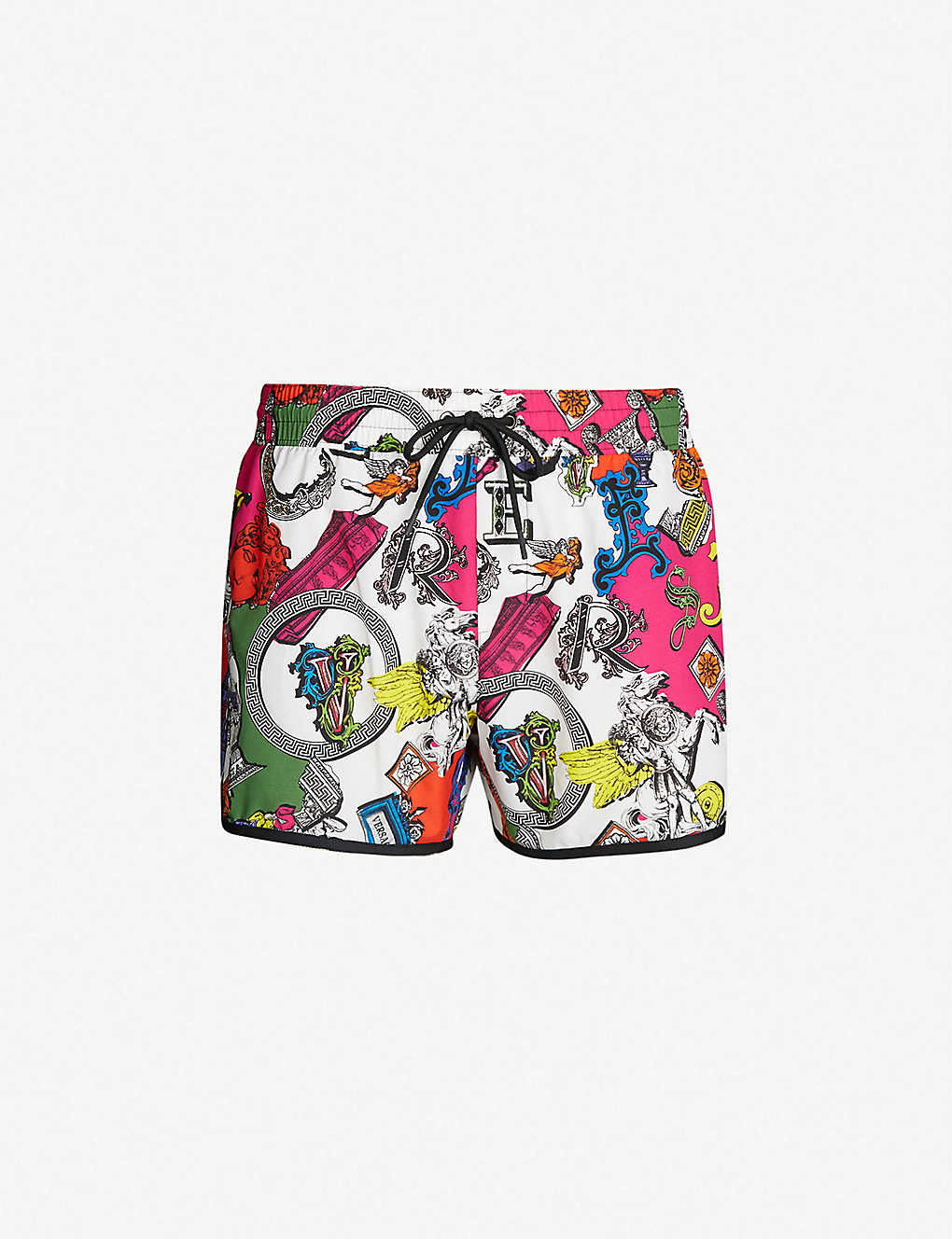 c425bb1e8d VERSACE - Archive-print mid-rise swim shorts | Selfridges.com