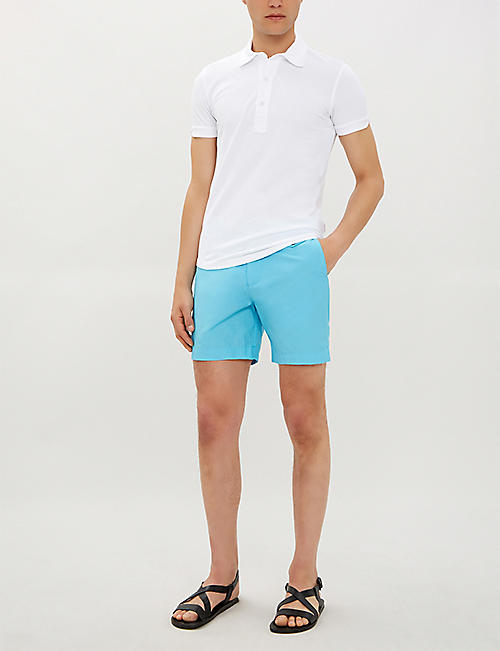 HEMINGSWORTH Clipper tailored regular-fit swim shorts