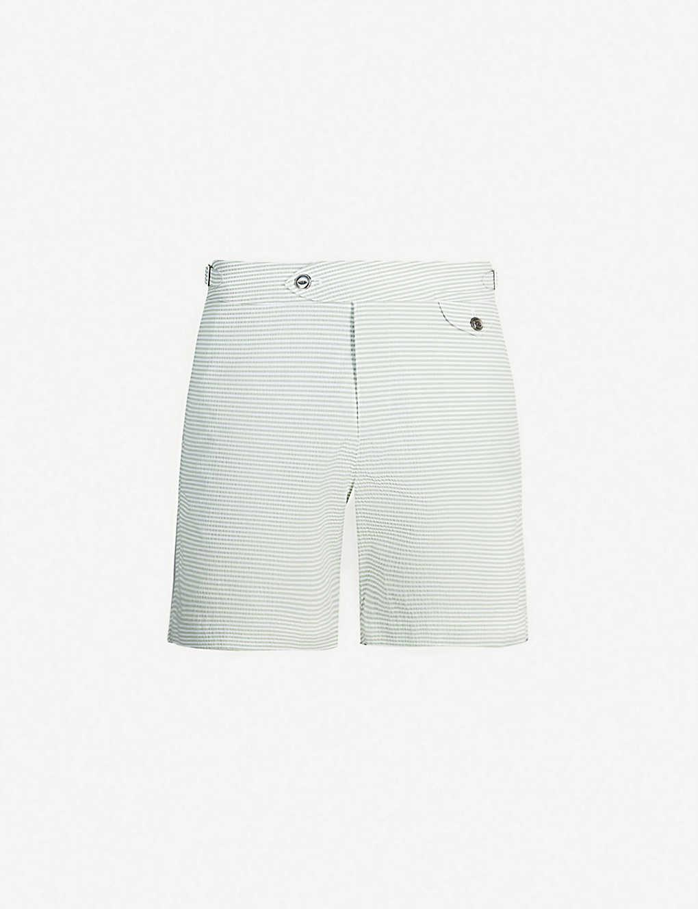 3877863f43 HEMINGSWORTH - Clipper seersucker swim shorts | Selfridges.com