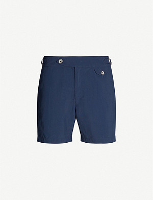 HEMINGSWORTH Clipper shell swim shorts