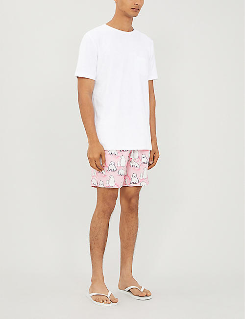 BLUEMINT Arthus polar bear-print swim shorts
