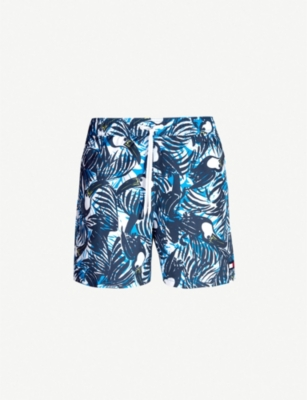 TOMMY HILFIGER Toucan-print swim shorts