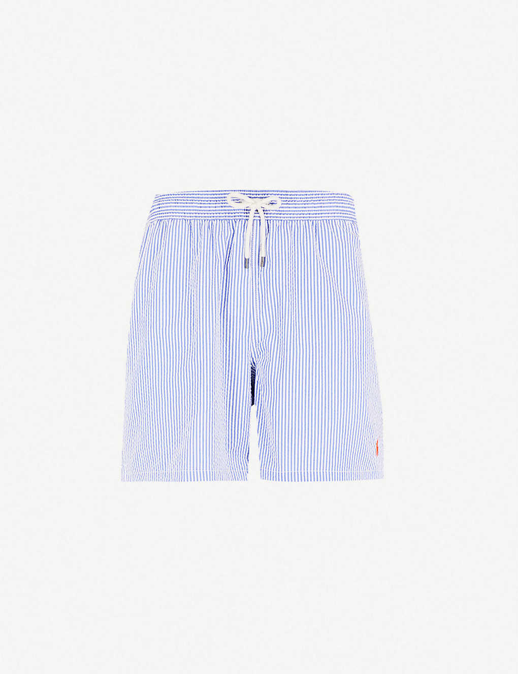 80b821fcfe98 POLO RALPH LAUREN - Traveller striped cotton-blend swim shorts ...
