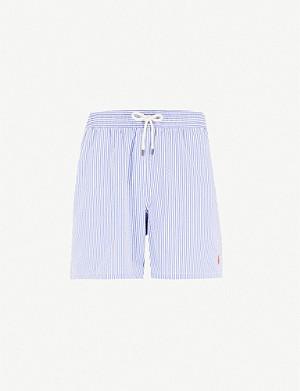 d4dfe3f0e4838 POLO RALPH LAUREN - Traveller relaxed-fit anchor-print swim shorts ...