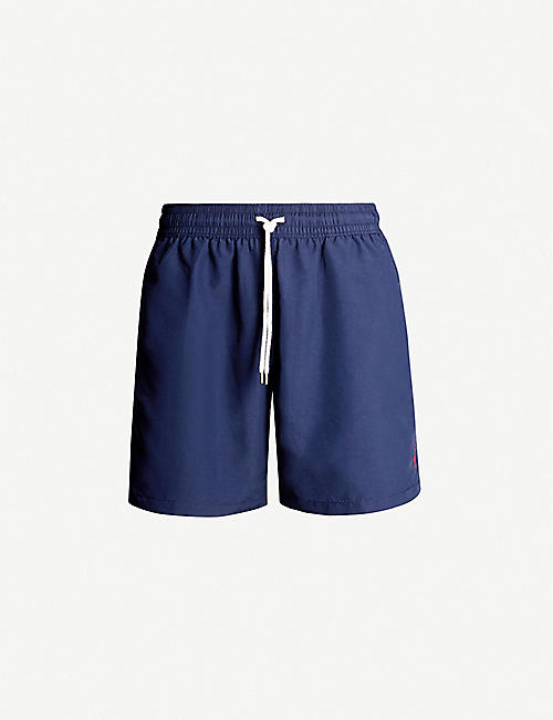 75d71453e3 POLO RALPH LAUREN Traveller logo-embroidered swim shorts