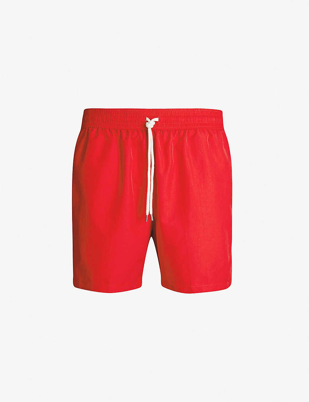 b9e86b19a4 POLO RALPH LAUREN - Traveller logo-embroidered swim shorts ...