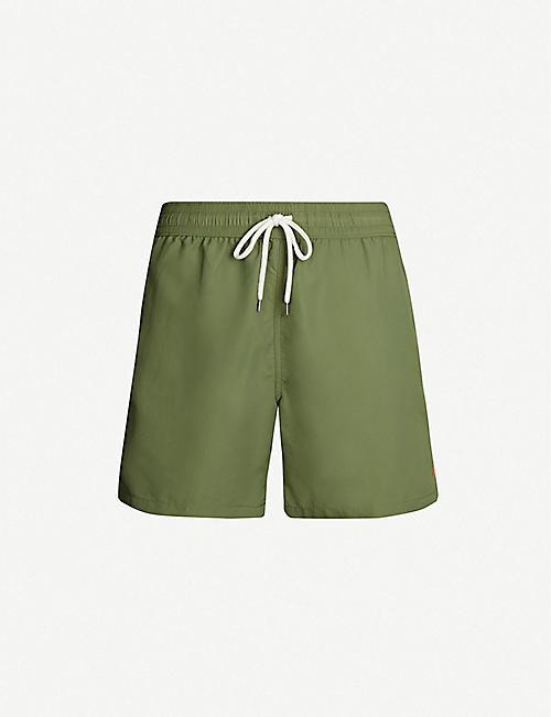 c157556c3c2 POLO RALPH LAUREN Traveller logo-embroidered swim shorts