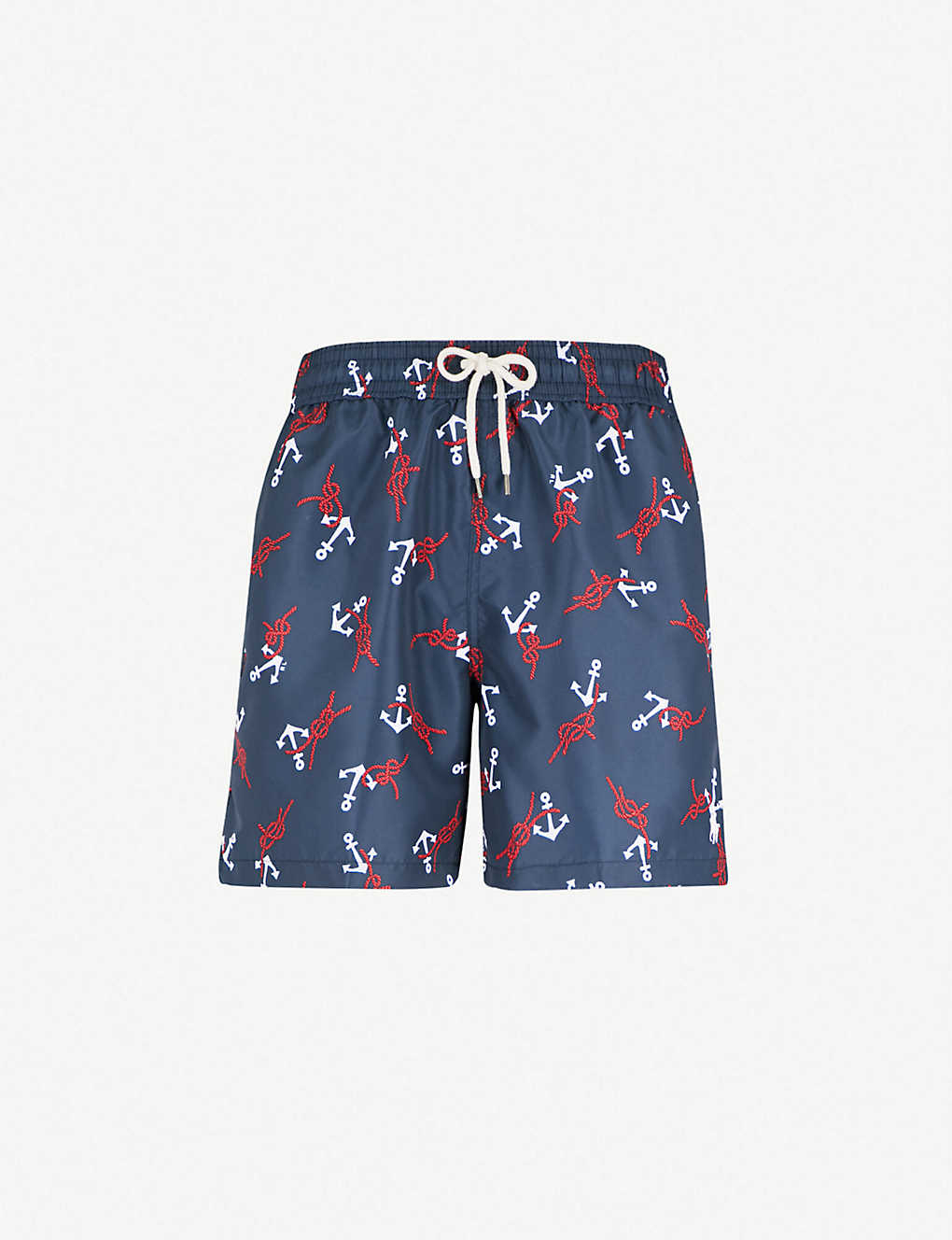 84375a57d POLO RALPH LAUREN - Traveller relaxed-fit anchor-print swim shorts ...