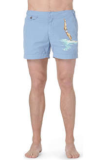 RALPH LAUREN Venice printed swim shorts