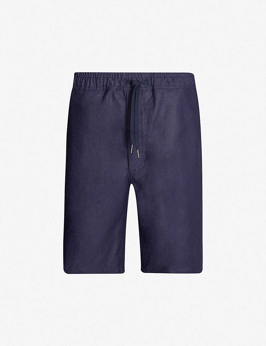 DEREK ROSE: Sydney linen swim shorts