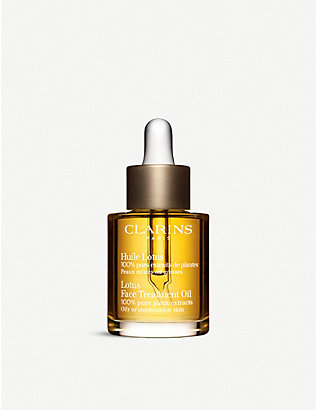 CLARINS: Lotus face treatment oil – combination⁄oily skin 30ml