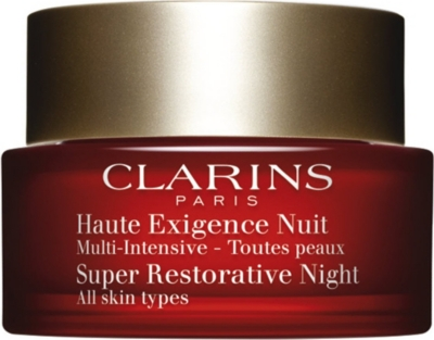 CLARINS Super Restorative Night Cream - All Skin Types 50ml