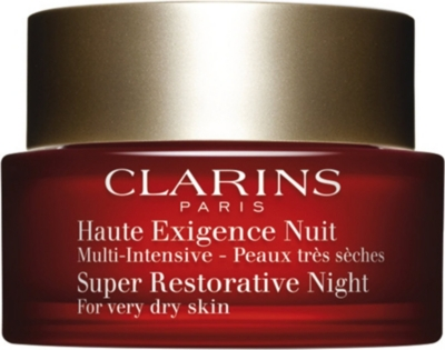 CLARINS Super Restorative Night Cream - For Very Dry Skin 50ml