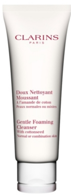 CLARINS Gentle foaming cleanser for normal⁄combination skin 125ml