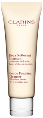 CLARINS Gentle foaming cleanser for dry⁄sensitive skin 125ml