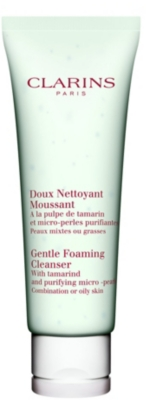 CLARINS Gentle foaming cleanser for combination⁄oily skin 125ml