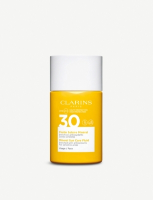 CLARINS Mineral Sun Care Fluid for Face SPF 30 30ml
