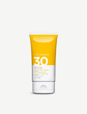 CLARINS Sun Care Gel-To-Oil for Body SPF 30 150ml